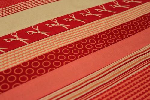 piece fabrics together