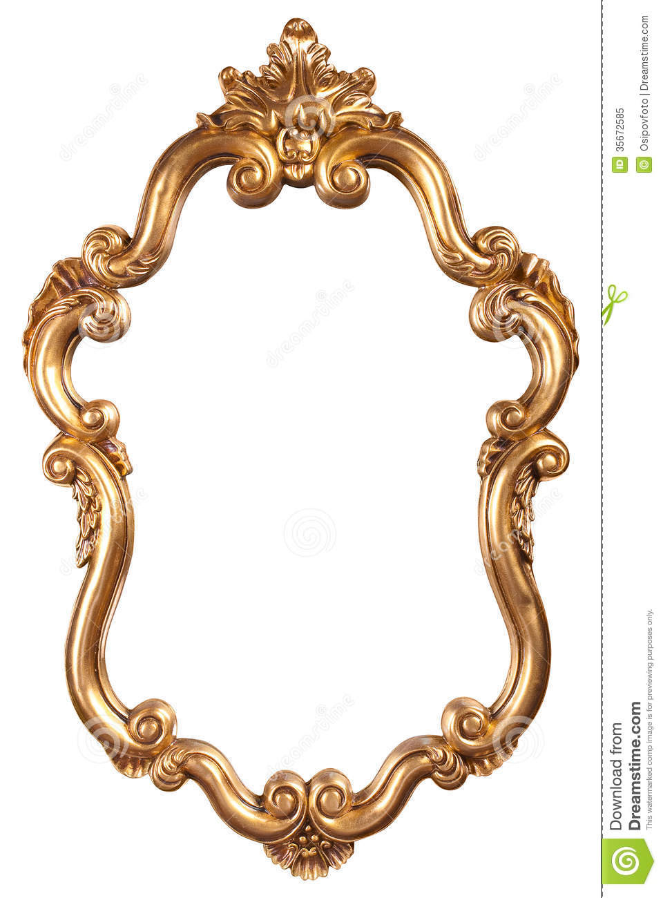 Antique Gold Frames Clipart