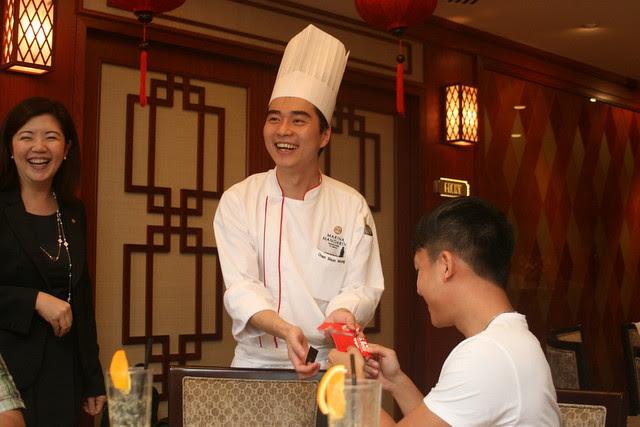 Chef Chan Shun Wong from Hong Kong is very young!