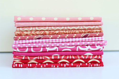 Pink Castle Fabrics Stash Stack Club by Jeni Baker