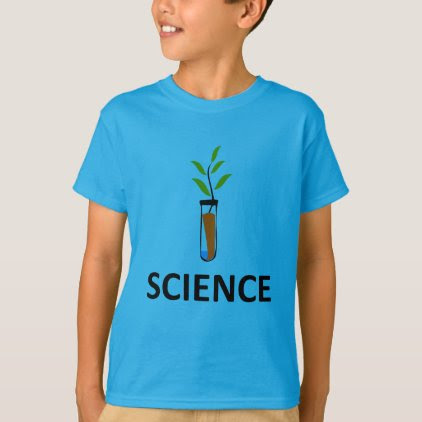 Science – Test Tube Plant T-Shirt