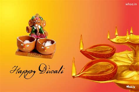 happy diwali   lord ganesha
