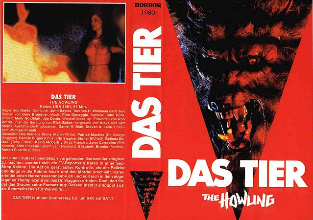 The Howling, 1980 (VHS Box Art)