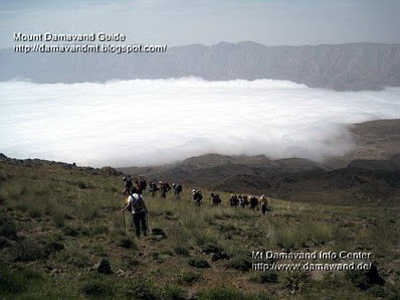 Climb Mt Damavand<