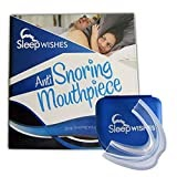 #6: Anti-Snoring Device by Sleep Wishes - Sleeping solution Snoring problems - Our Mouthpiece is a Moldable Mouth Guard that also helps with Teeth Grinding - Sleep Aid Night