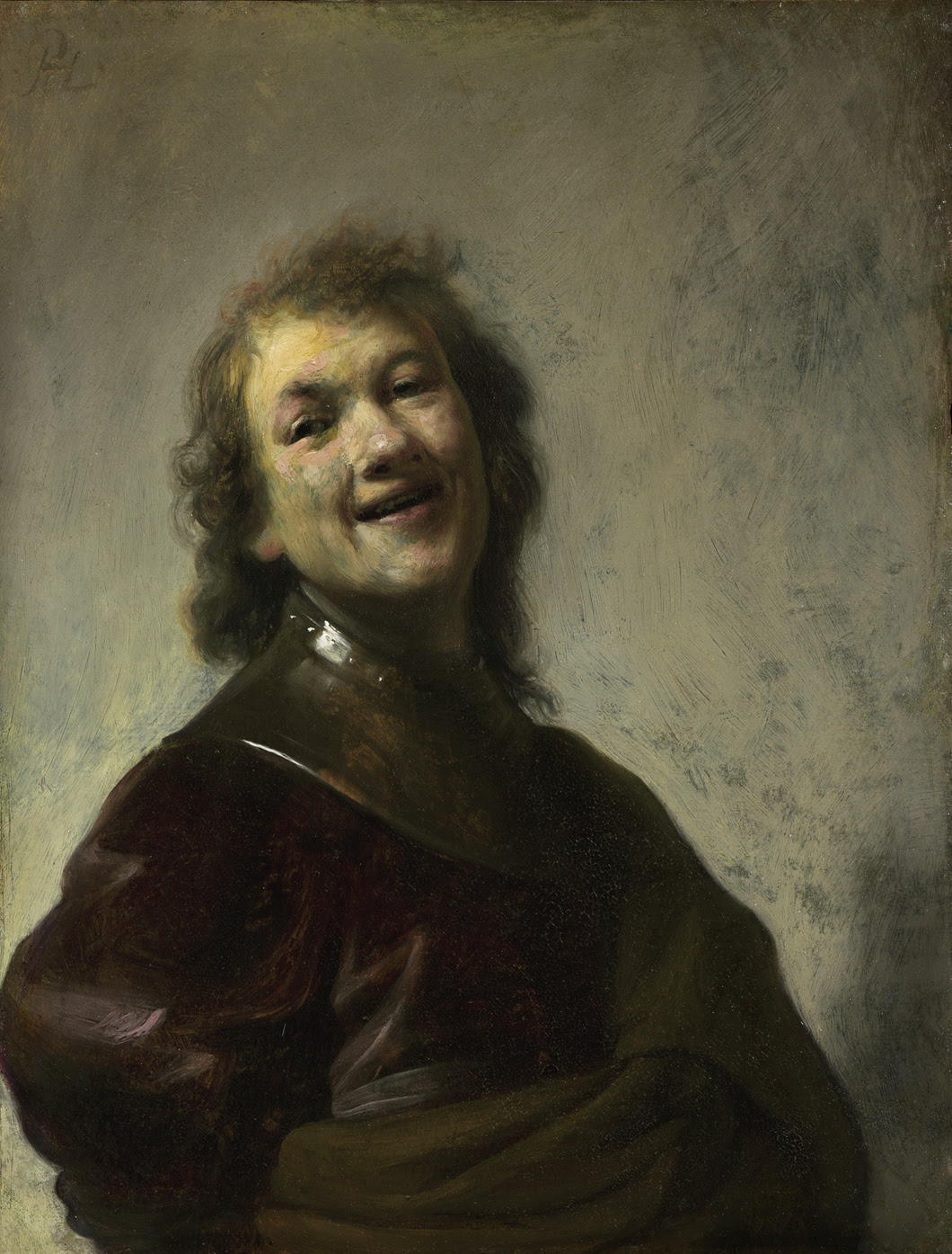 Self Portrait Rembrandt Laughing