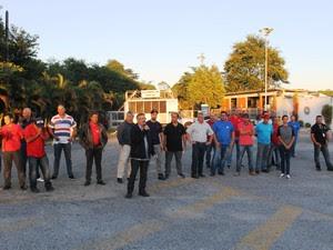 Funcionários fazem greve por pagamento de PLR (Foto: Divulgação/Sindicato dos Metalúrgicos de Taubaté)