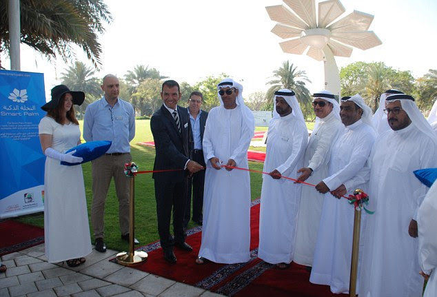 Smart Palm tree launched the new technology in a special ceremony in Dubai