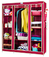 Best 5 Portable Foldable Wardrobe for Clothes Storage in India - Review