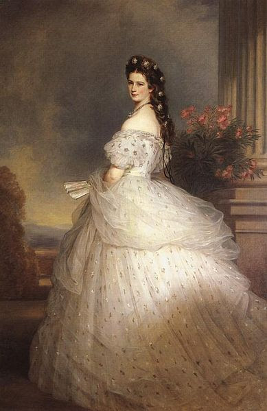 File:Empress Elisabeth of Austria with diamond stars on her hair.jpg