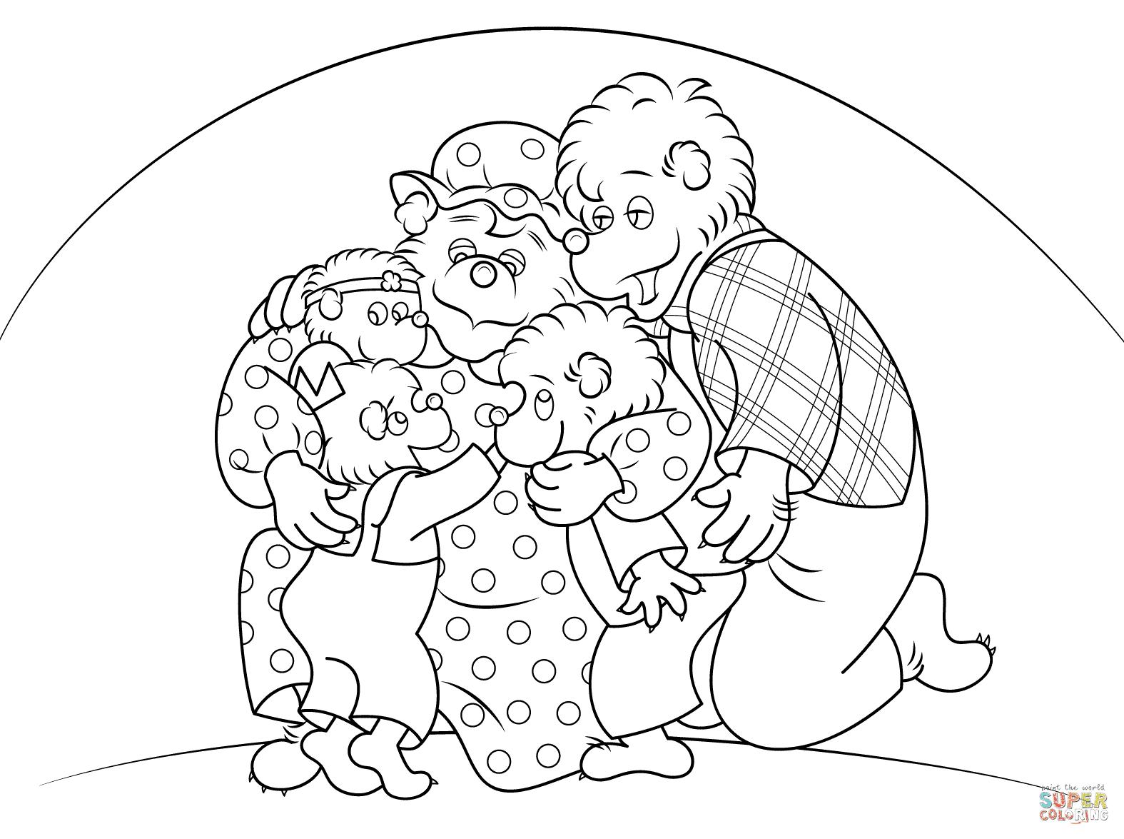 Berenstain Bears are Hugging