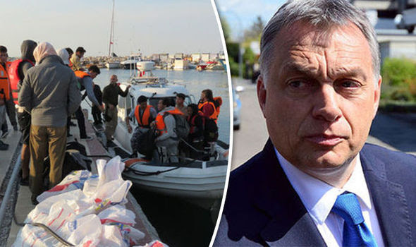 Vitkor Orban blamed the EU elite for the migrant crisis