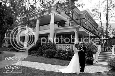 wedding at the cedars