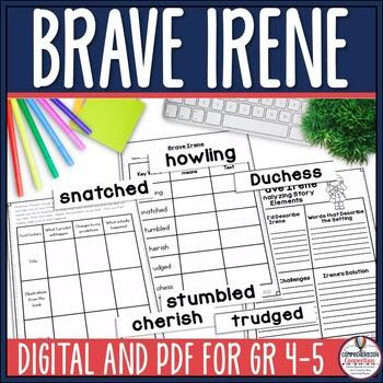 Brave Irene Reading and Writing Unit using Six Traits
