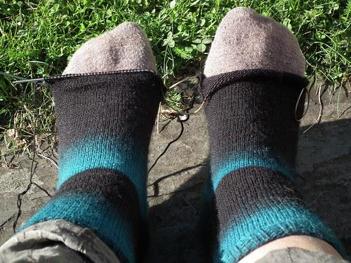Zauberball- sokker