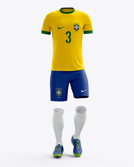 Download Download Psd Mockup Boots Football Front View Jerseys Mock ...