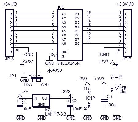 logic level converter circuit