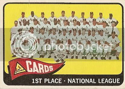 #57 Cardinals Team Card