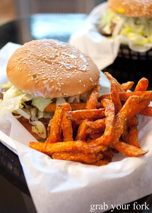 sweet potato fries at jazz city diner darlinghurst