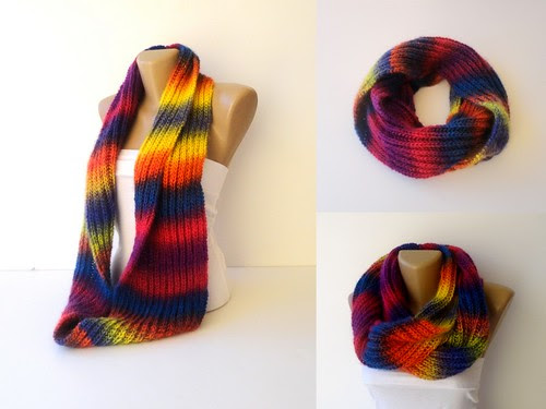 knitting scarf by seno_ada