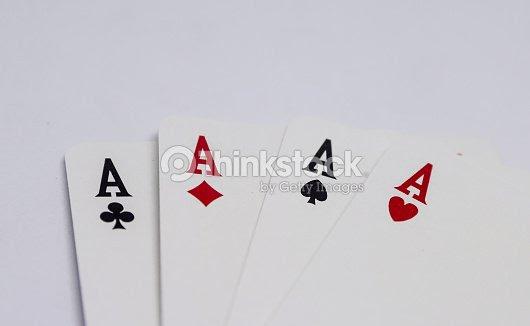 Ases De Corazones Flores Espadas Y Diamantes Foto De Stock Thinkstock