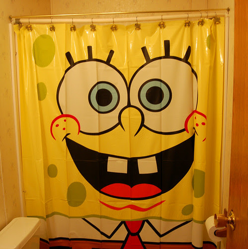 The SpongeBob bathroom