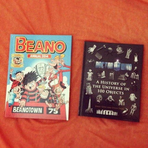 Beano Annual 2014 and Doctor Who: The History of the Universe in 100 Objects