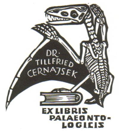 Dr. Tillfried Cernajsek Bookplate