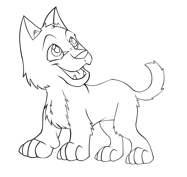 Wolf Cub Coloring Pages at GetColorings.com | Free ...