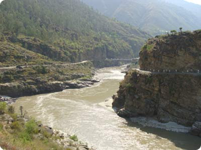 Sutlej River In Pakistan