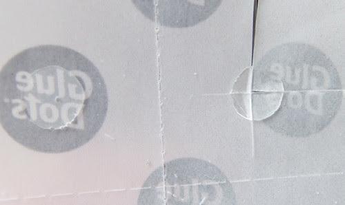 Glue Dot Cut