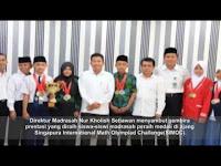 Lagi Siswa Madrasah Gondol Medali di Ajang Olimpiade Internasional Matematika
