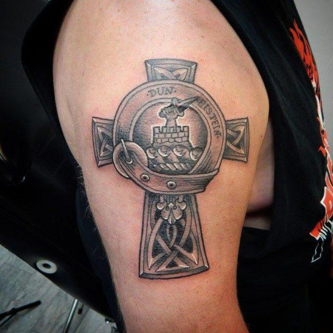 85 Celtic Cross Tattoo Designsmeanings Characteristic Symbol 2019