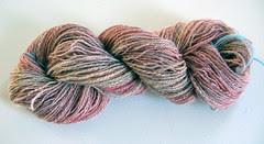 Shetland/Angora handspun