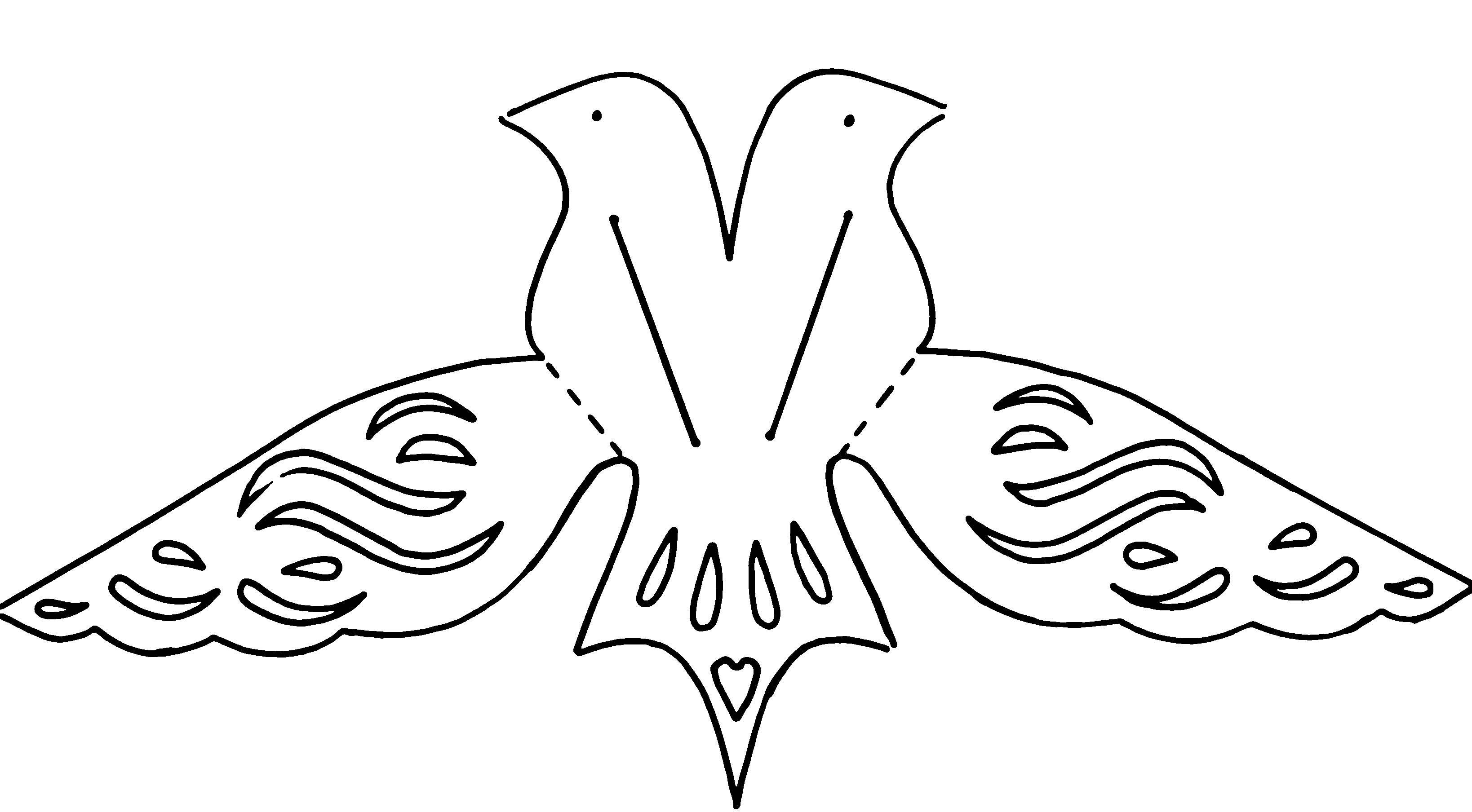 Bird template.