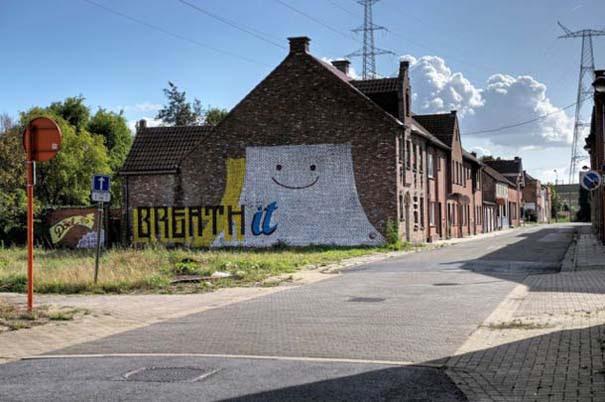 Doel: Το εγκαταλελειμμένο χωριό που παραδόθηκε στην τέχνη του δρόμου (6)