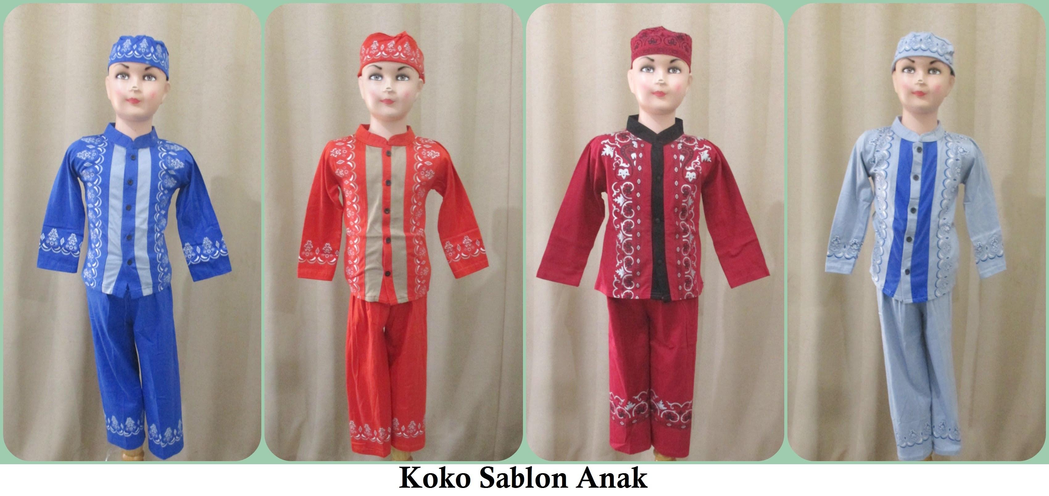 model baju muslim pesta anak remaja