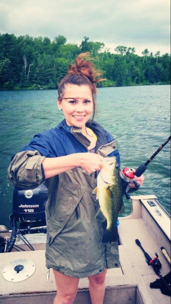 Девушка и рыбалка: очень совместимые вещи!