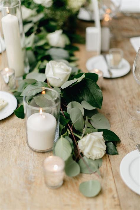 17 Best ideas about Green Wedding Centerpieces on
