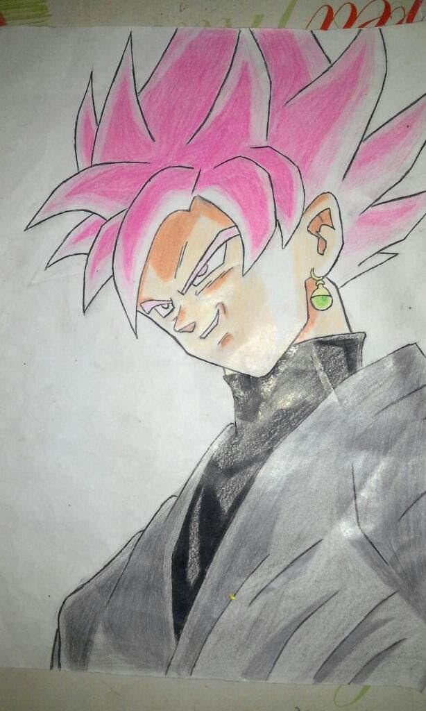 Goku Black Ssj Rose Anime Amino