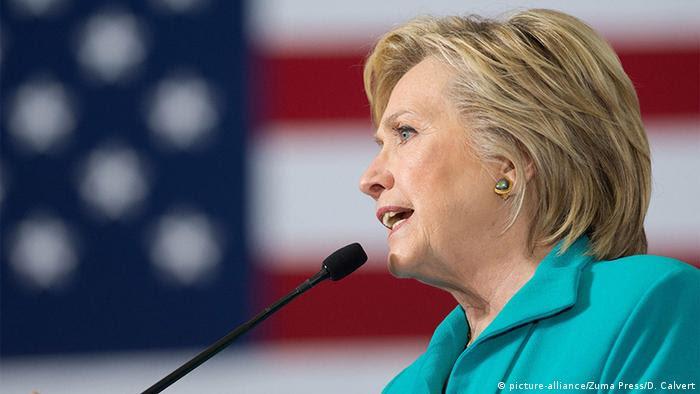 Hillary Clinton in Nevada (Foto. picture-alliance/Zuma Press/D. Calvert)