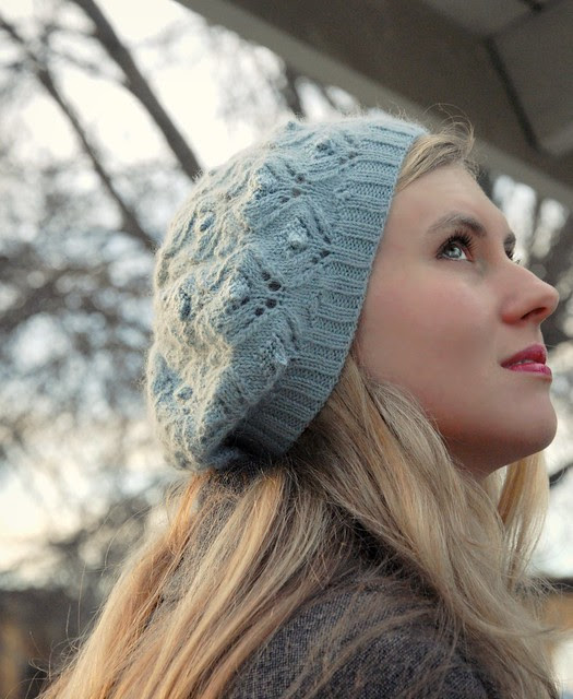 Cloudy Day Beret by Alana Dakos