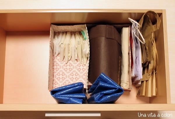 Come Organizzare I Sacchetti Di Plastica E Le Buste Di Carta