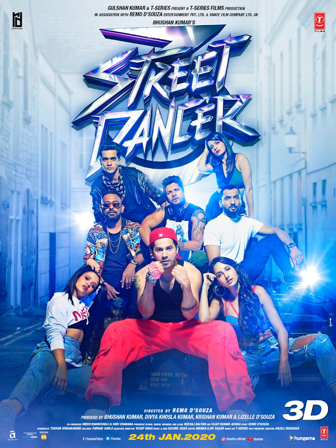 Street Dancer 3D (2020) Hindi Movie HDRip 950MB | 300MB *Clean Audio & BEST PRINT*