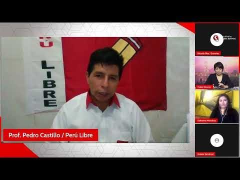 🔴 Elecciones 2021: Entrevista a Pedro Castillo, candidato a la presidenc...