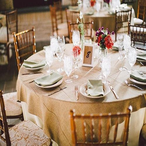 Burlap Tablecloths Jute Burlap Tablecloths For Sale Your Wedding Linen