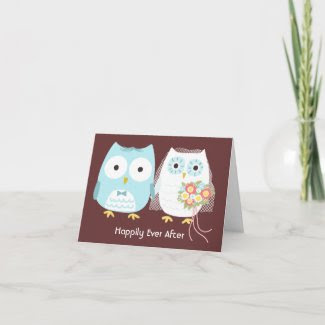 Owls Happily Ever After Cards