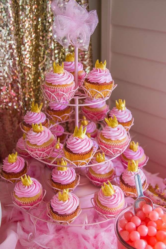 Bridal Shower Pink And Gold Birthday Party Ideas 2178981 Weddbook