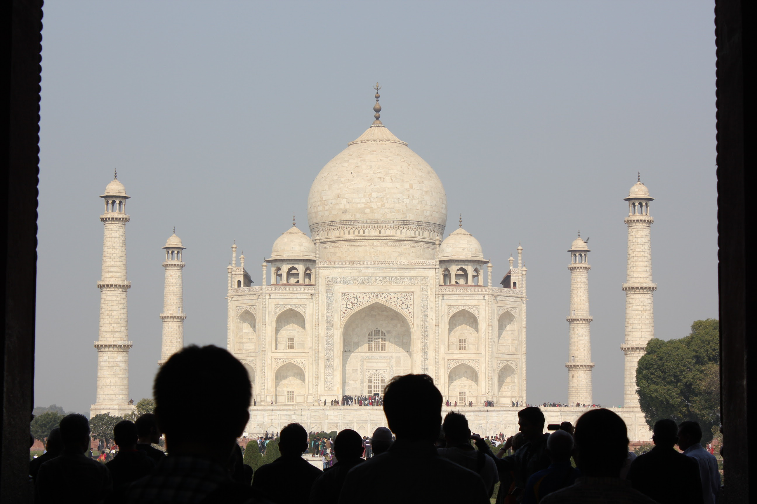 """The Wonder """"Taj Mahal"""" which comes under Golden Triangle Tour India"""
