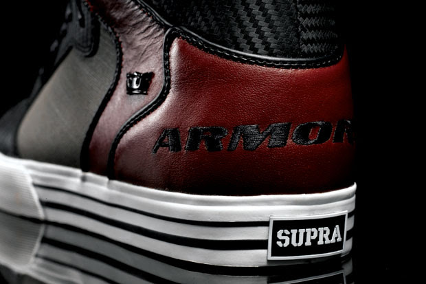 armored supra vaider limited edition sneakers 5 Armored x Supra Vaider Limited Edition Sneakers